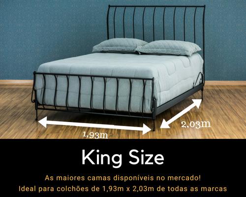 Informações sobre as camas king