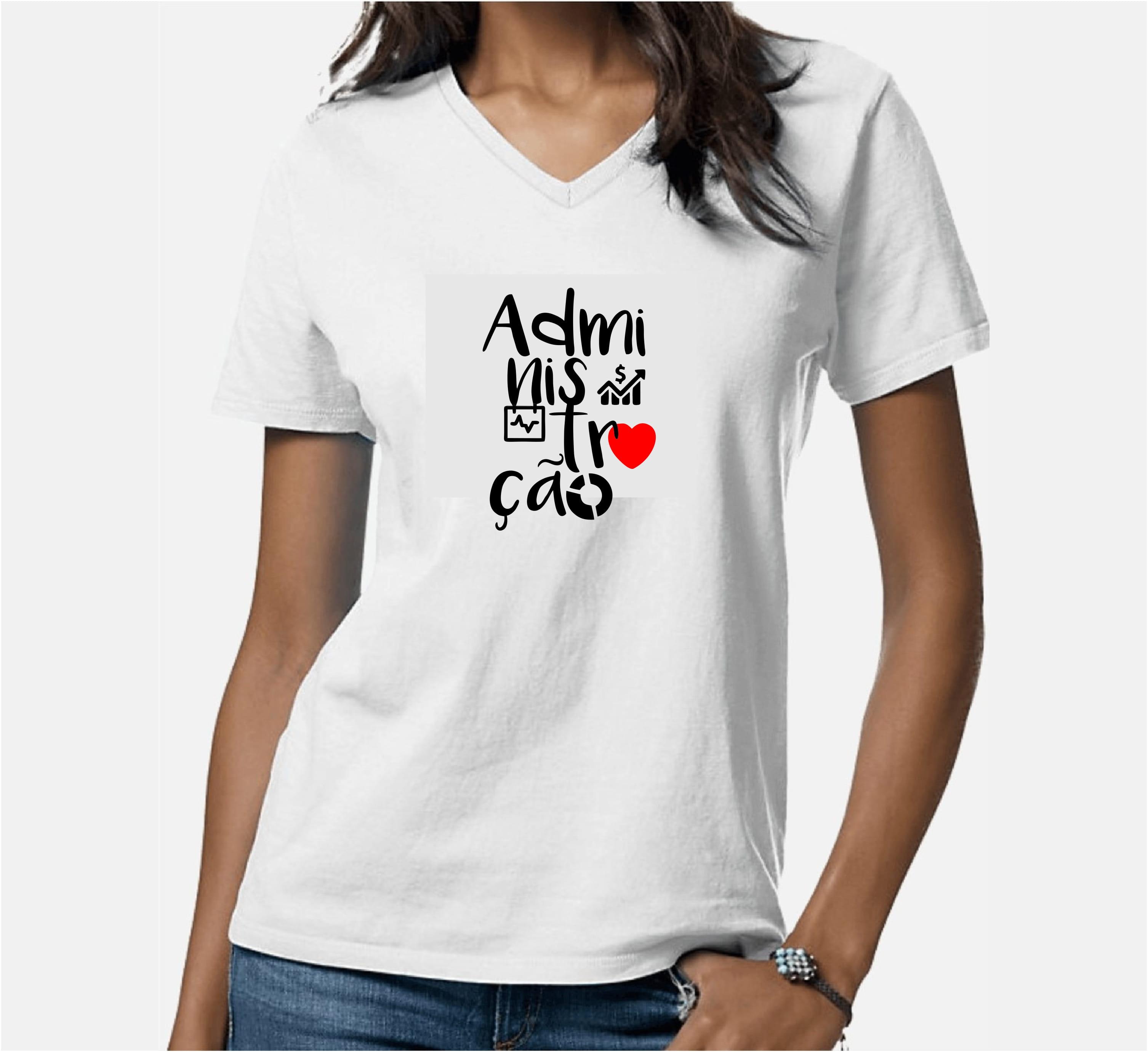 0f13936924 Camiseta Baby Look Curso Administração - ADM 2020 - Cekock A Marca ...