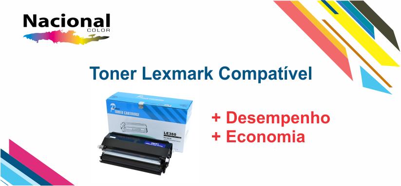 toner lexmark compativel