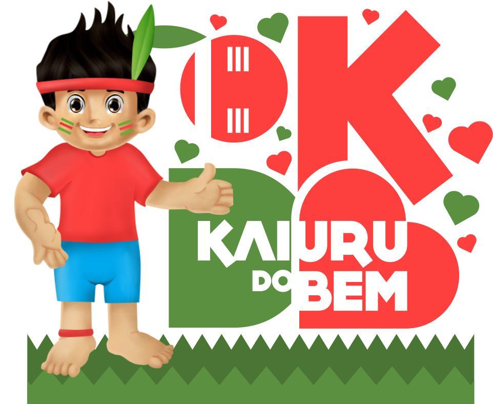 Logo campanha Kaiuru do Bem