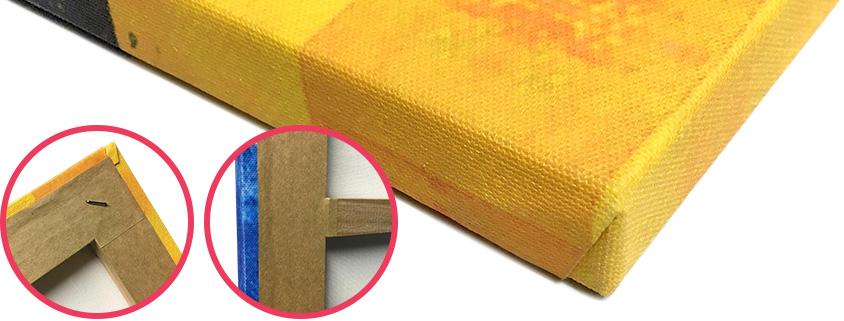 Quadro Your Frame em canvas com acabamento em chassi