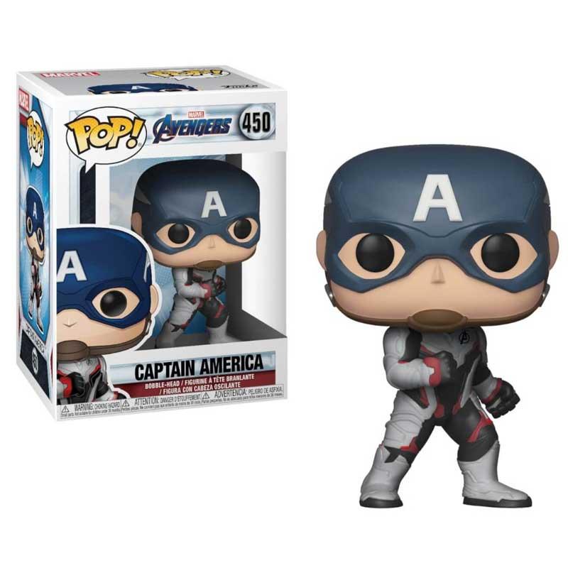 Pop Funko Vingadores Ultimato Capitão América #450 Marvel
