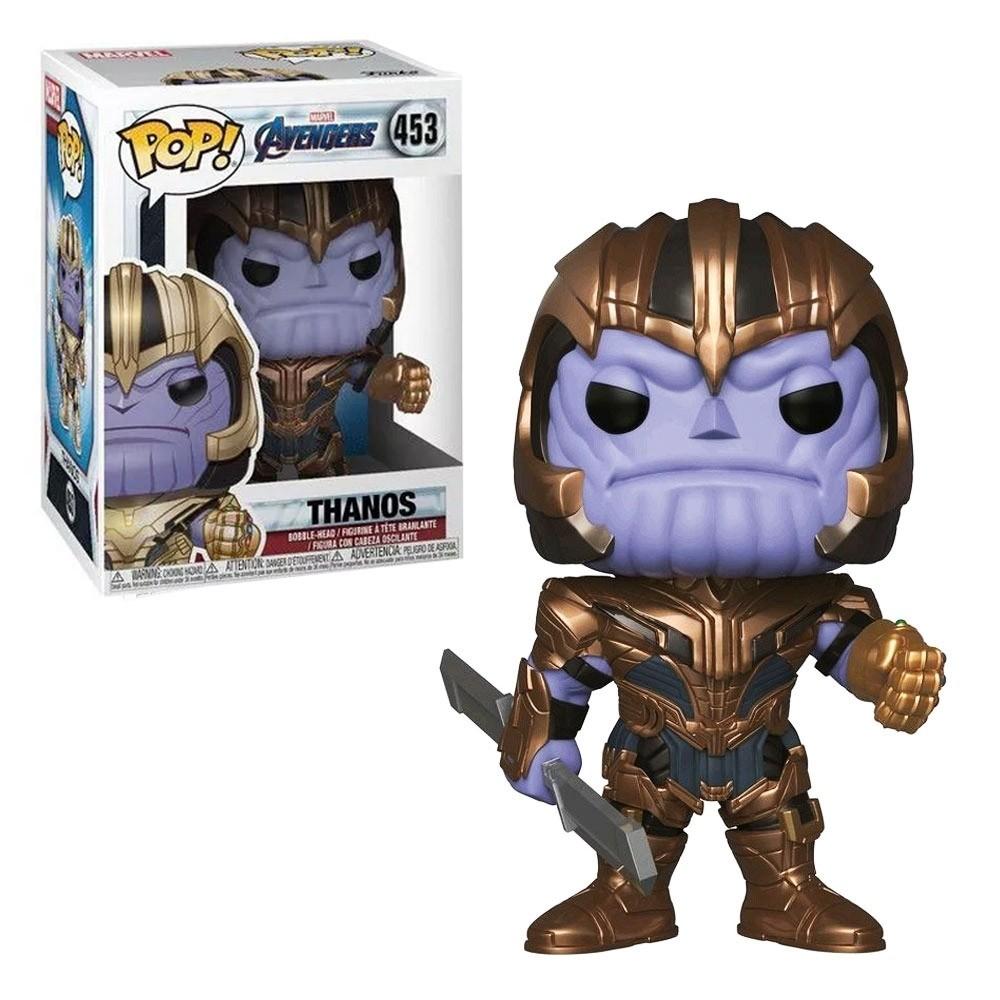 Pop Funko Vingadores Ultimato Thanos #453 Marvel