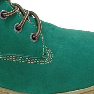 Tênis adventure de couro nobuck verde Atron Shoes