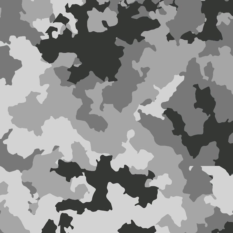 Fabricart - Coleção Camuflados - Camuflado Neve - 50cm X150cm