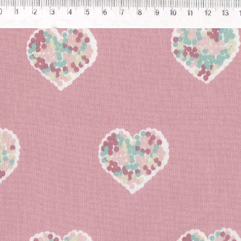 Fernando Maluhy - Coleção Path Love - Catton Candy Rosa -  50cm X 150cm