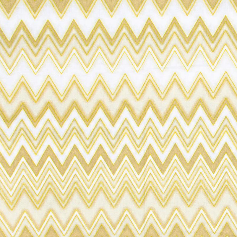 Caldeira - Chevron Dourado - 50cm x 150cm