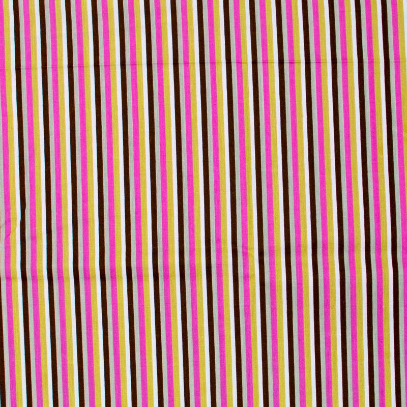 Caldeira - Listrado Rosa/Laranja/Cinza/Preto - 50cm x 150cm