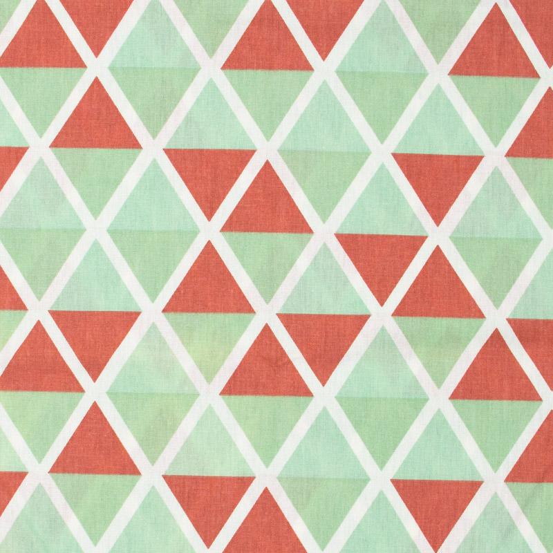 Caldeira - Losango Vermelho/Verde - 50cm x 150cm