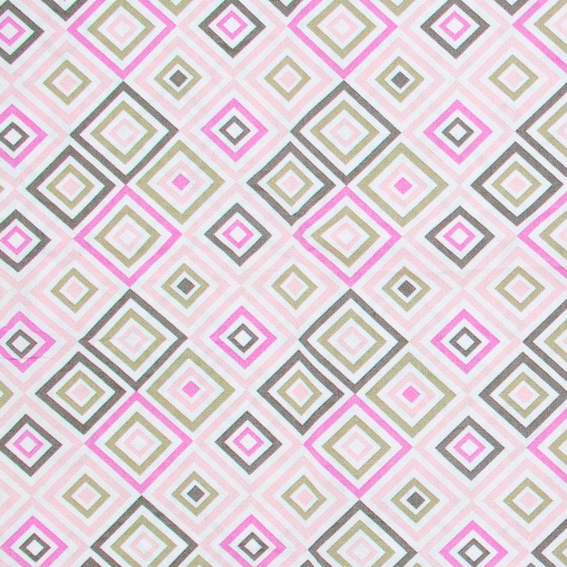 Caldeira - Quadrado Rosa/Cinza/Roxo  Com Fundo Branco- 50cm x 150cm
