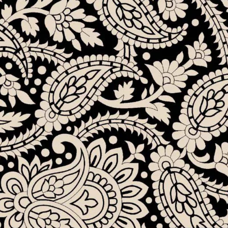 Fuxicos e Fricotes - Coleção Finesse - Cashmere Finesse Preto - 50cm X150cm