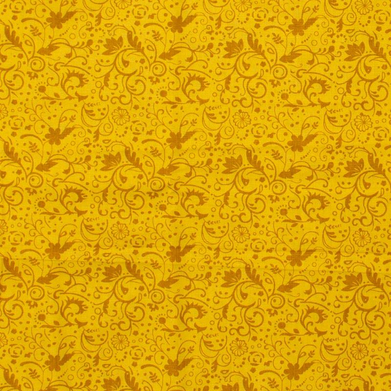 Catarinense - Arabesco Dourado - 50cm X150cm
