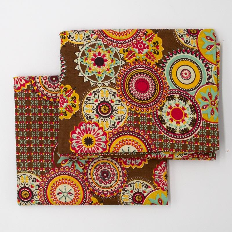 Cris Mazzer - Estampa Mandalas - 50cm x 150cm