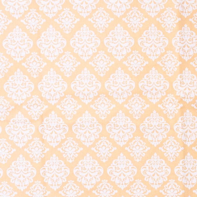 Casa Criativa - Arabesco BRanco Com Fundo Rosa - 50cm X150cm