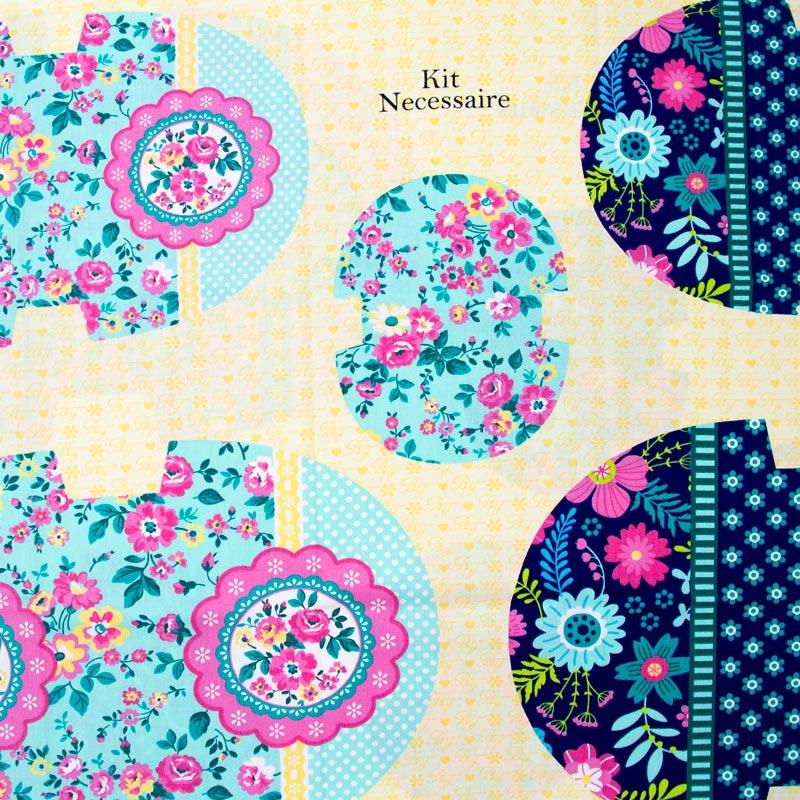 Estilotex - Kit Necessaire Floral - 50cm x 150cm