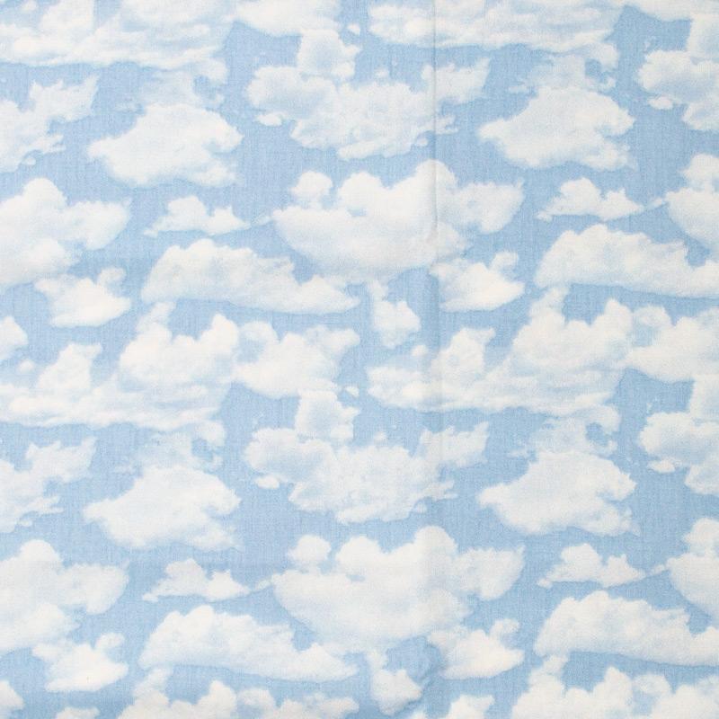 Estilotex - Nuvens Branca Com Fundo Azul - 50cm x 150cm