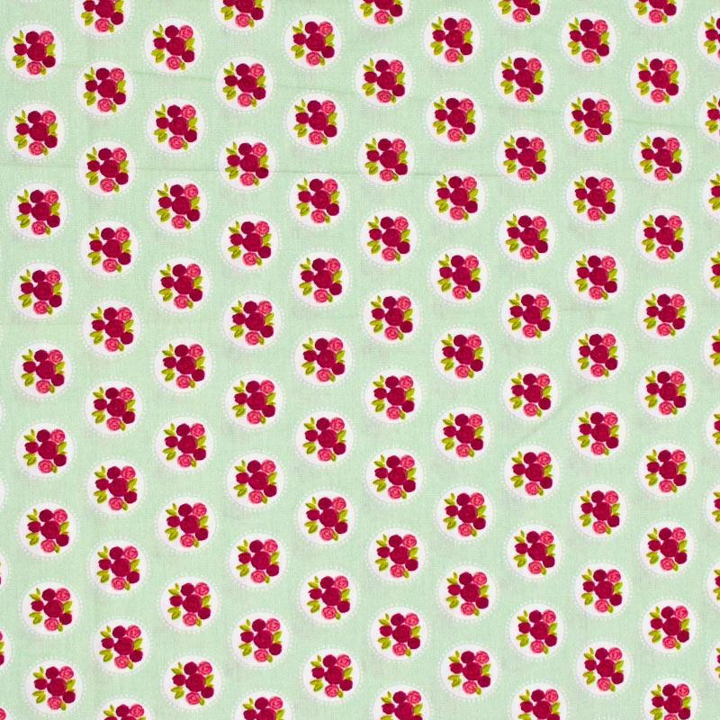 Fabricart - Rosas no Camafeu - 50cm X150cm