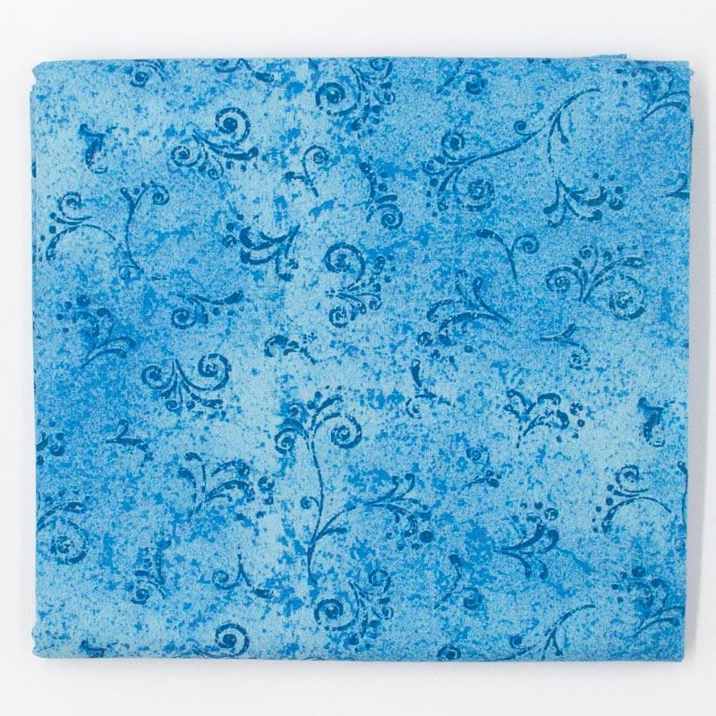 Fernando Maluhy - Arabesco Texturado Azul - 50cm X150cm
