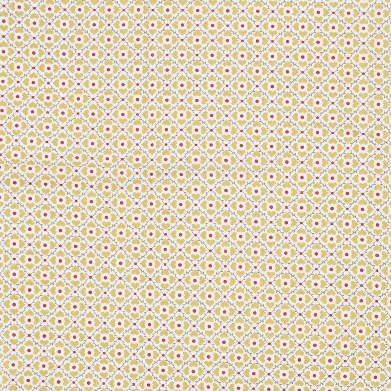 ´Fernando Maluhy - Ladrilhos Bege Poá Vermelho - 50cm X150cm