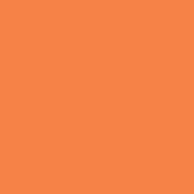 Fabricart Coleção Basics & Colors - Liso Laranja - 50cm X150cm