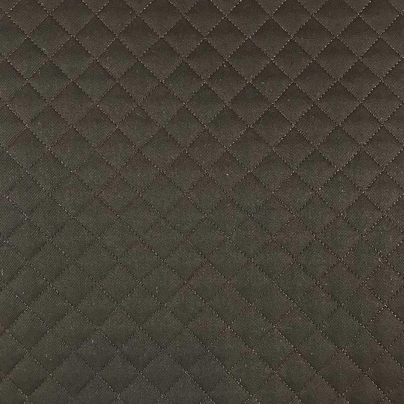Tecido Matelassado Sarja Reto Marrom - 50cm X 150cm