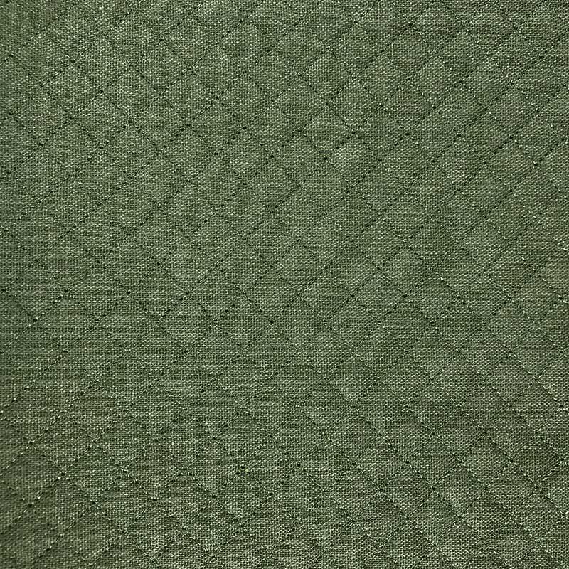 Tecido Matelassado Sarja Reto Verde - 50cm X 150cm