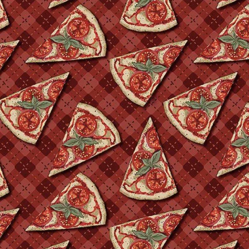 Fuxicos e Fricotes Coleção Chef - Mini Pizzas - 50cm X150cm