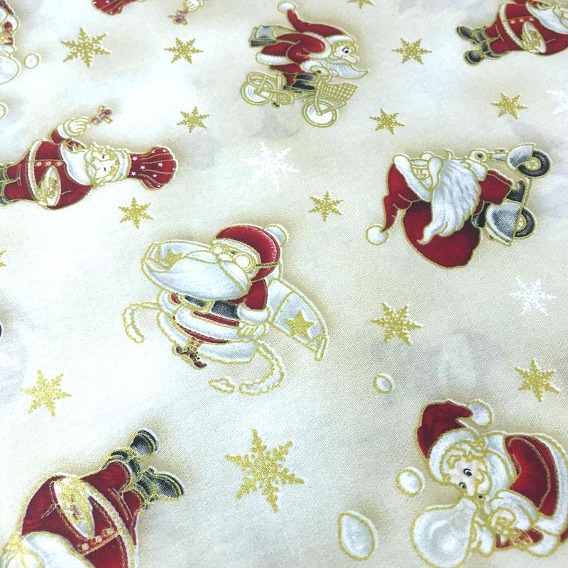 Caldeira - Coleção Nastal - Estampa Papai Noel Colorido