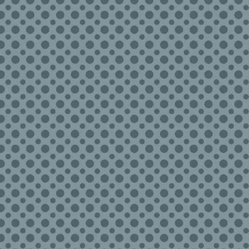 Fuxicos e Fricotes Coleção Poá TomTom - Poá Azul Jeans - 50cm X150cm