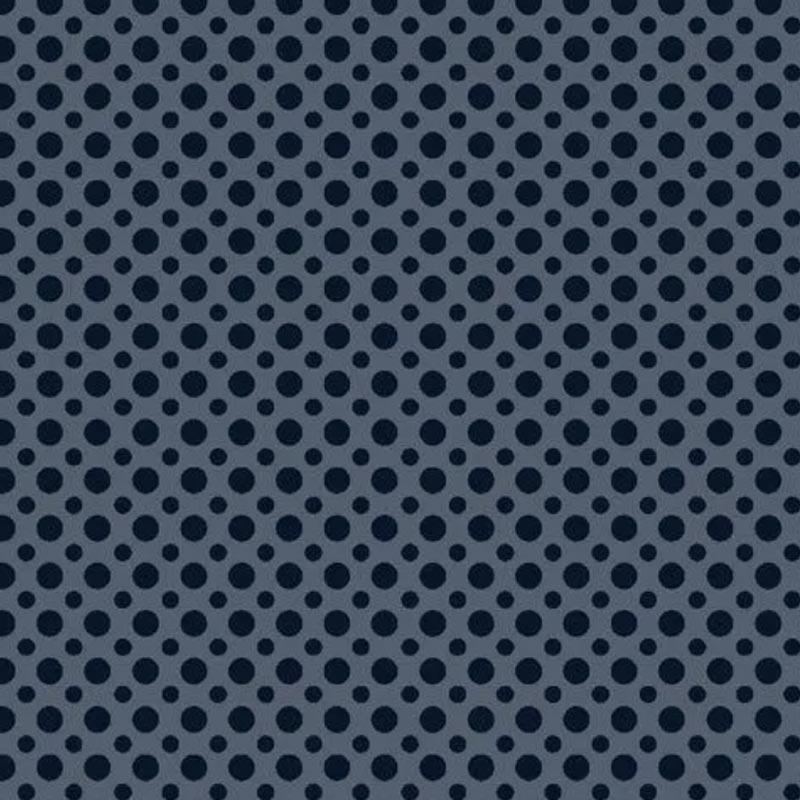 Fuxicos e Fricotes Coleção Poá TomTom - Poá Azul Marinho - 50cm X150cm