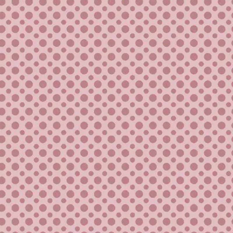 Fuxicos e Fricotes Coleção Poá TomTom - Poá Rosa - 50cm X150cm