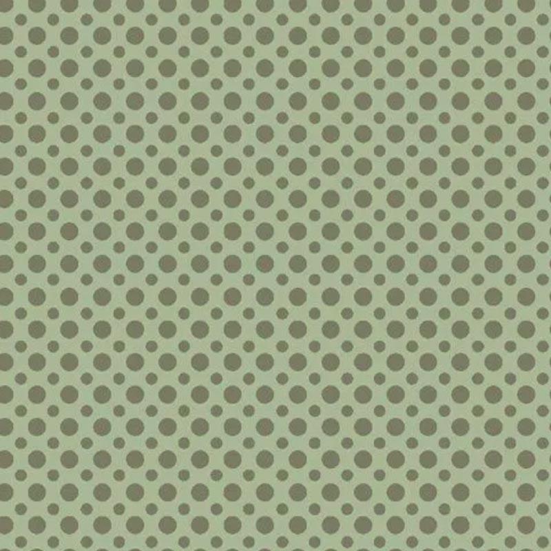 Fuxicos e Fricotes Coleção Poá TomTom - Poá Verde - 50cm X150cm