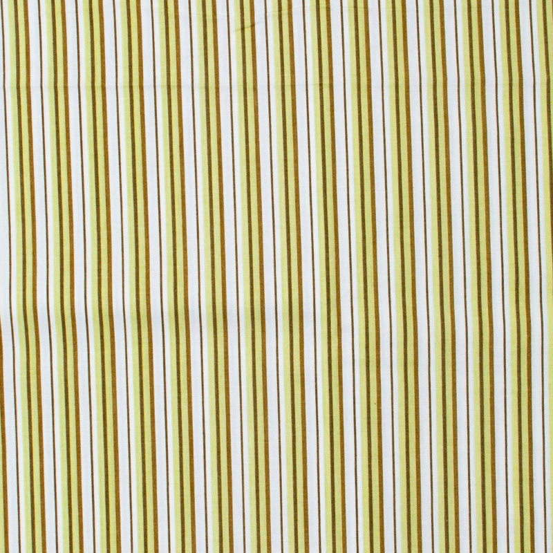 Telanipo - Listrado Marrom/Amarelo/Preto - 50cm x 150cm