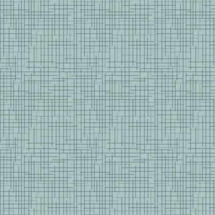 Fuxicos e Fricotes Coleção Texturas - Textura Azul Oceano - 50cm X150cm