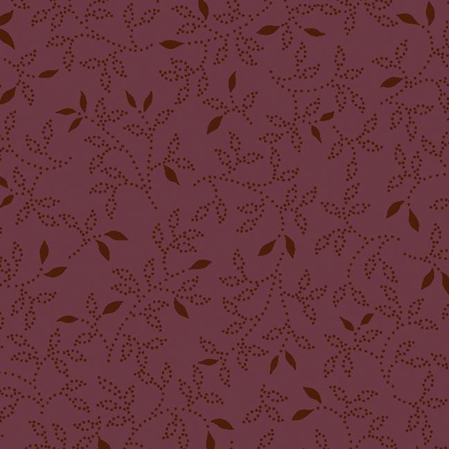 Fernando Maluhy - Coleção Dream Little  Dream Millyta - Textura Little Dream Vinho - 50cm X150cm