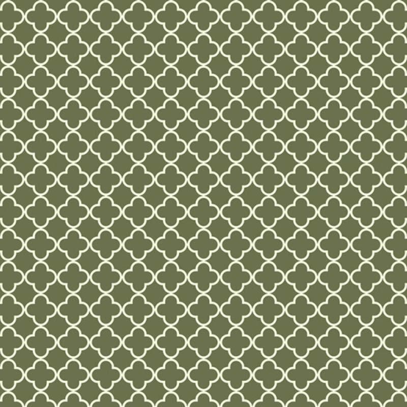 Fabricart Signature Coleção Botânica - Vitral Verde - 50cm X150cm