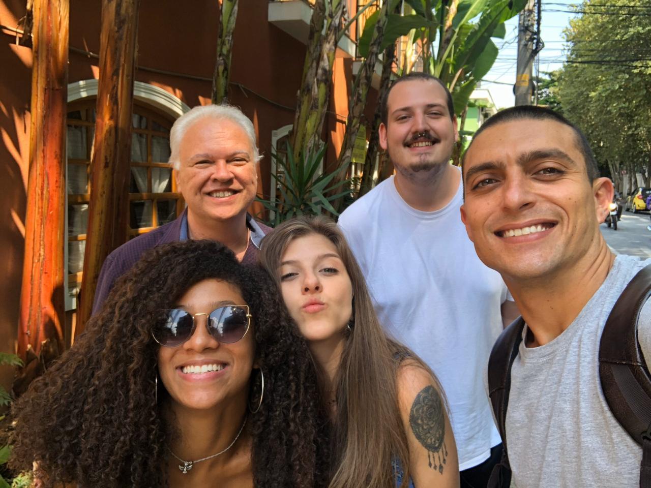 Equipe Ekological (Laura, Quintino, Larissa, Victor e Pedro)