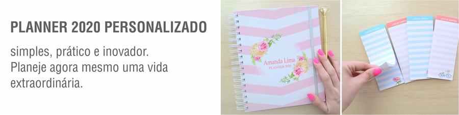 agenda planner 2020 personalizado