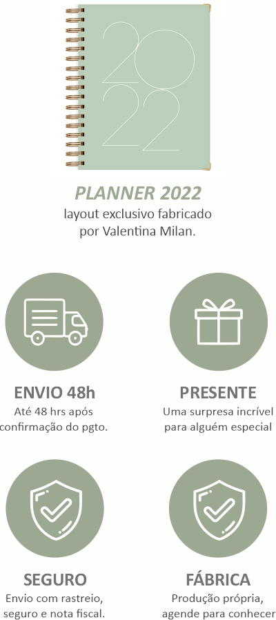 planner 2021 para gerir seu tempo