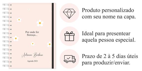 Agenda 2021 para mulherem empreendedoras.