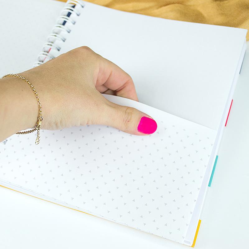 caderno para anotar minhas ideias