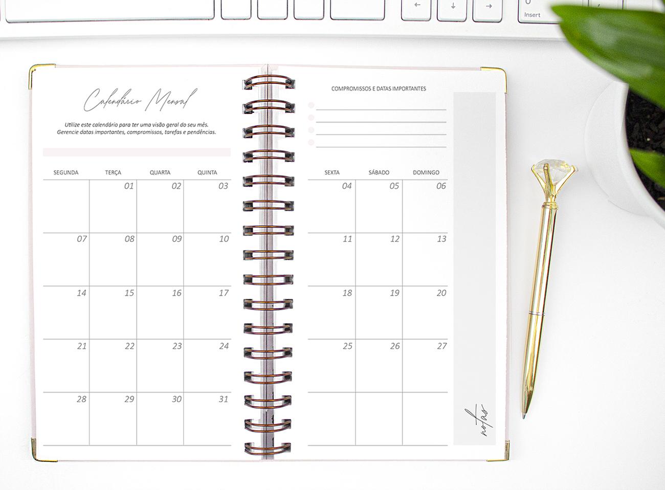 Você adora ter uma vida bem organizada?