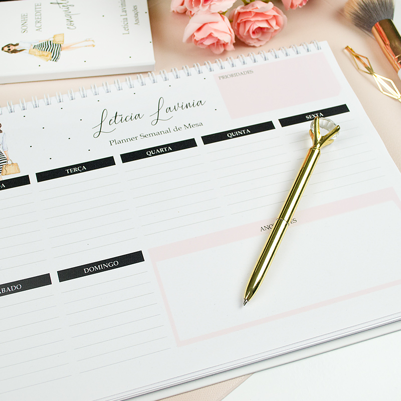 planner permanente para você que precisa ter uma rotina organizada