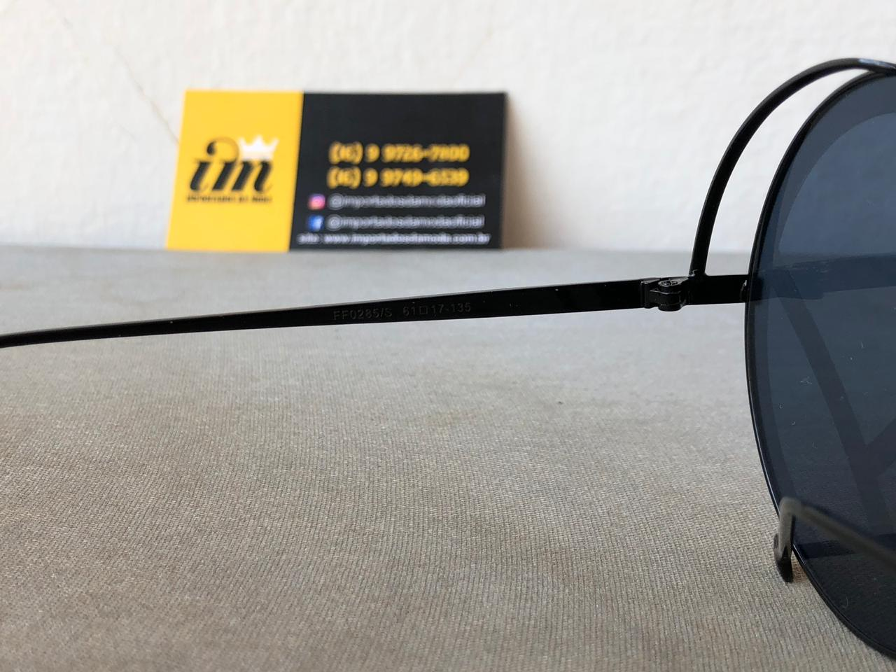e9d169ecb46cd Fotos reais e detalhadas do produto Óculos De Sol Fendi Runaway Feminino