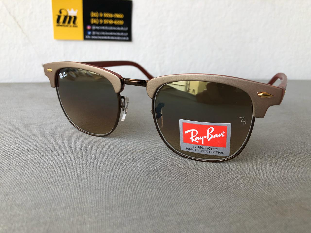 ec808d07d Oculos De Sol Ray Ban Clubmaster Replica Primeira Linha 2 ...