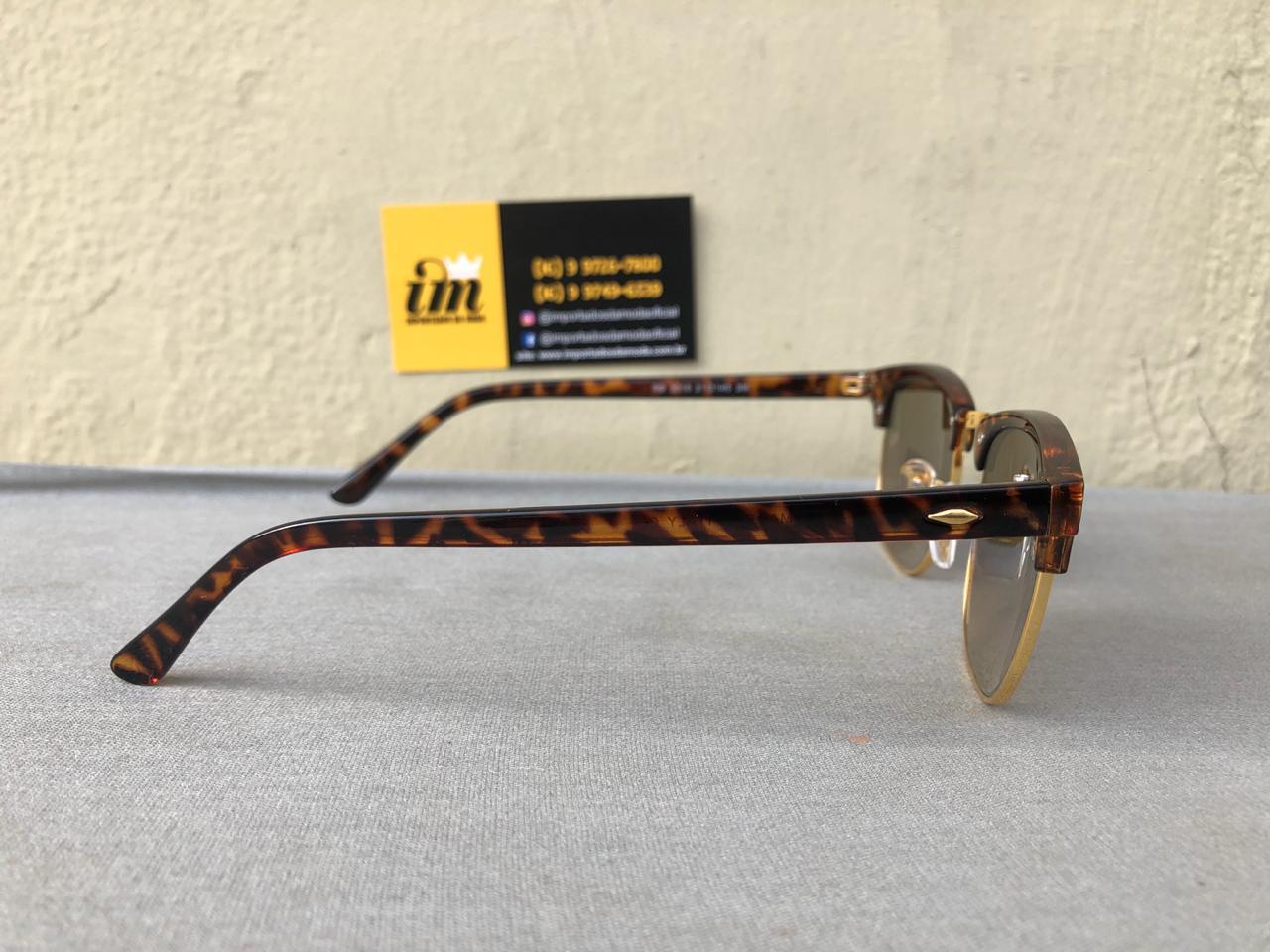 bf9da0710 ... Ray Ban Clubmaster Oculos De Sol Primeira Linha Replica 2 ...