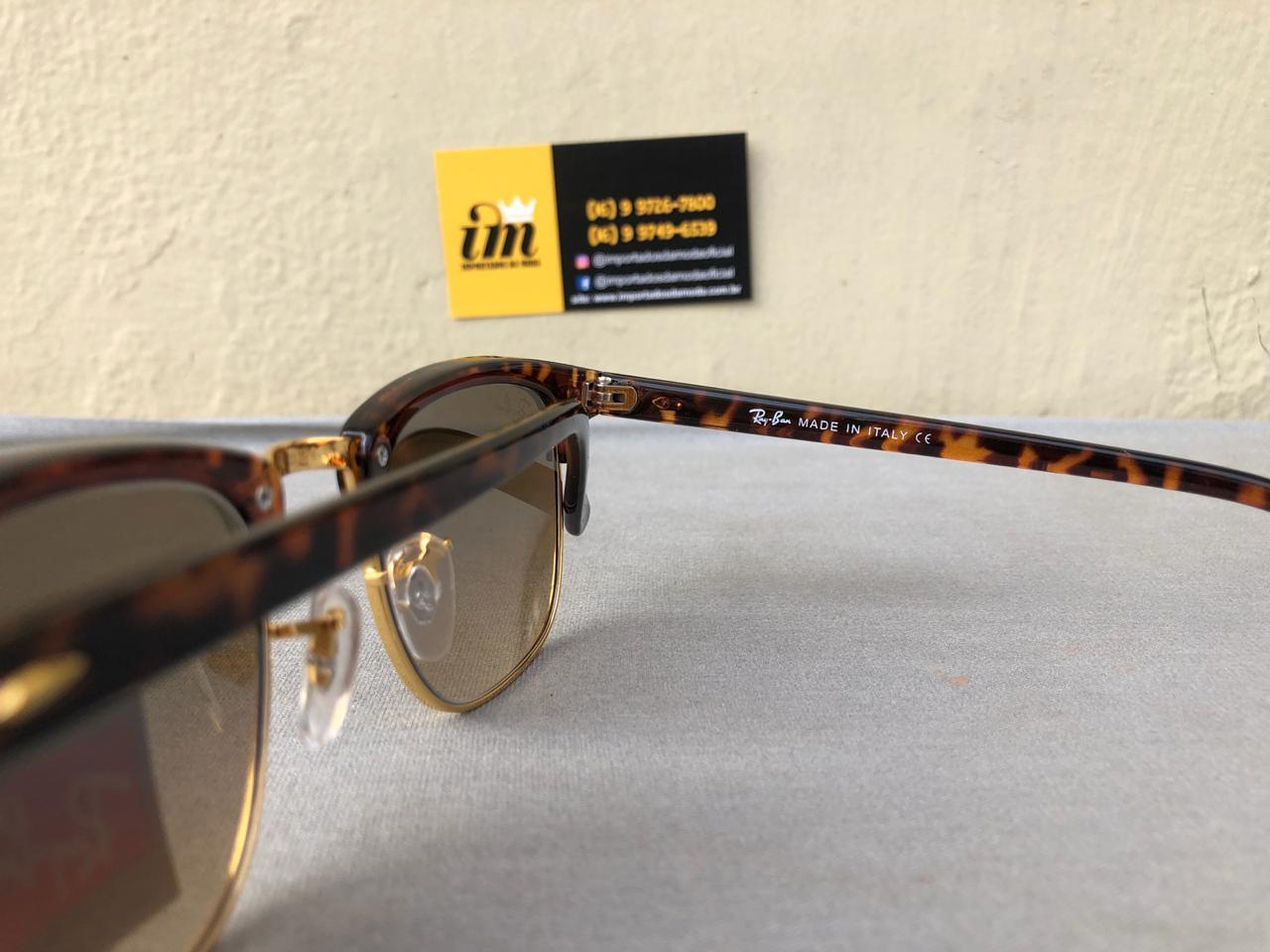 13cf4116c ... Replica 2 Ray Ban Clubmaster Oculos De Sol Primeira Linha Replica3 ...