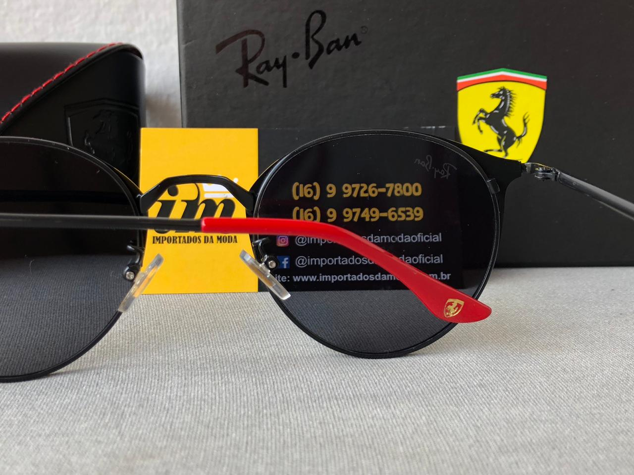 Óculos de Sol Ray Ban Ferrari Réplica Primeira Linha 3