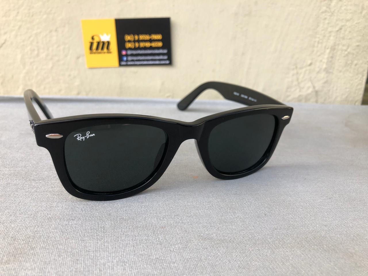 4f433d919 ... oculos de sol ray ban wayfarer rb2140 replica primeira linha importados  da moda 2 ...