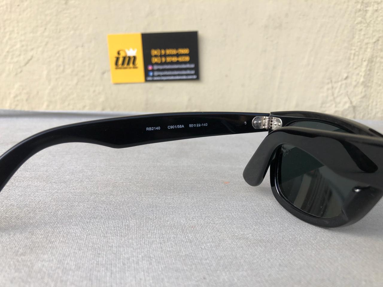 3b1bd9ddf ... oculos de sol ray ban wayfarer rb2140 replica primeira linha importados  da moda 8